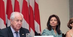 En la imagen, el Gerente del Banco Nacional, Fernando Naranjo.