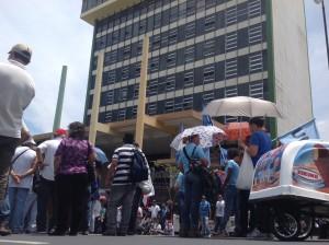 Edificio de la Caja Costarricense del Seguro Social en San José. CRH
