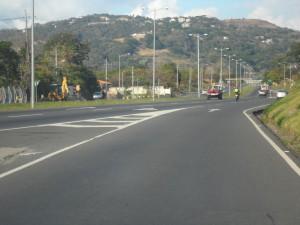 En la imagen un tramo de la Ruta 27 a Caldera. CRH