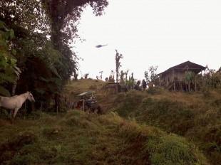 Campamento localizado el fin de semana pasado en Pococí. CRH