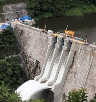 Aunque Costa Rica apuesta a la hidroelectricidad, la generación térmica aumentó en los últimos años. (Imagen del ICE.)