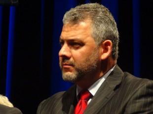 Carlos Segnini, ministro de Transportes. CRH