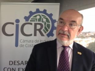 Juan Ramón Rivera, presidente de la Cámara Costarricense de la Construcción.  CRH.