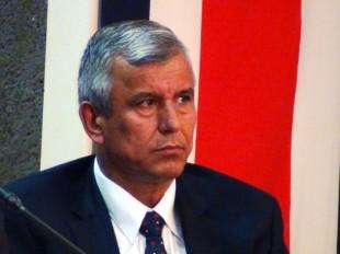 Víctor Morales, ministro de Trabajo.  CRH.