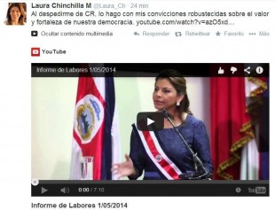 pos laura chinchilla