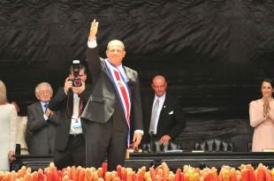 Luis Guillermo Solís ya fue juramentado. (CRH)