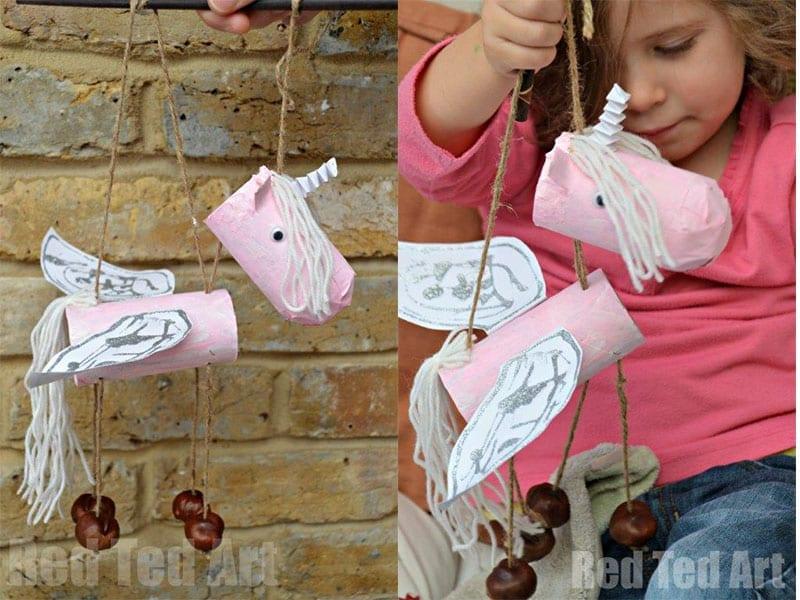 São moldes que vão fazer a alegria das crianças em atividades com. Marionete unicórnio feita com rolo de papel higiênico