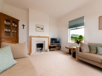 Living room with view of Humbledon Hill