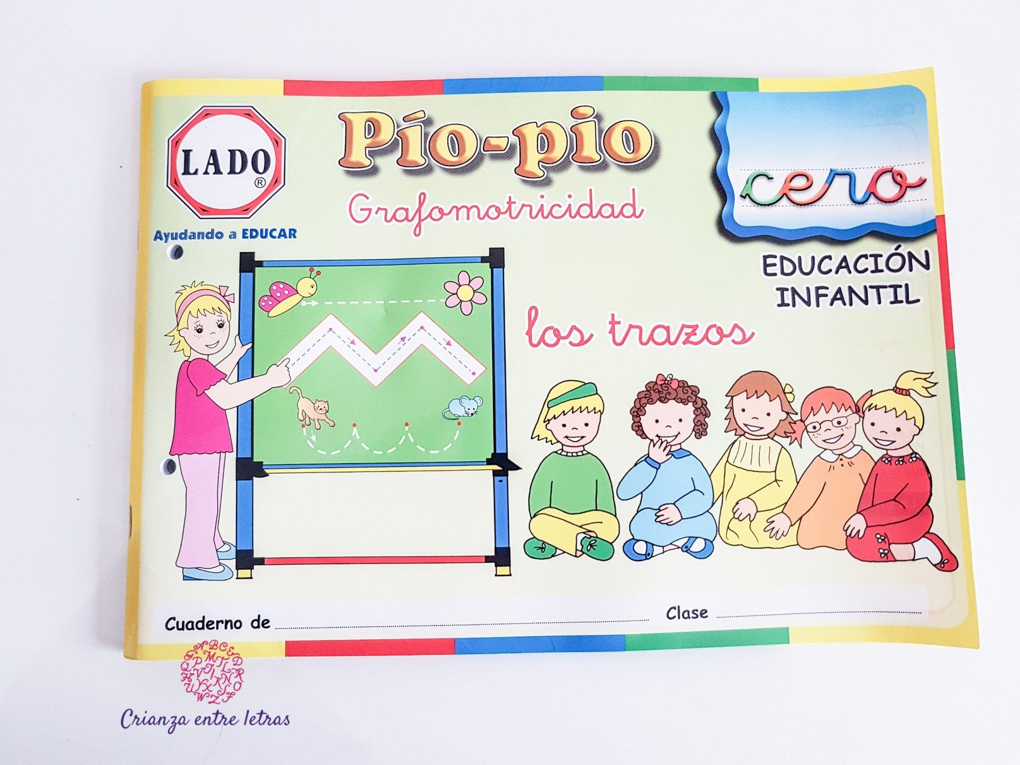 Trabajamos Grafomotricidad con Pío-Pío de Lado