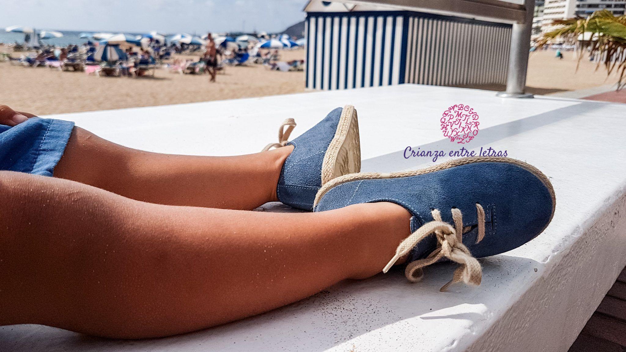Calzado de verano para peques Pisamonas