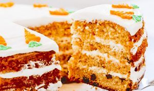 Receta de carrot cake fácil