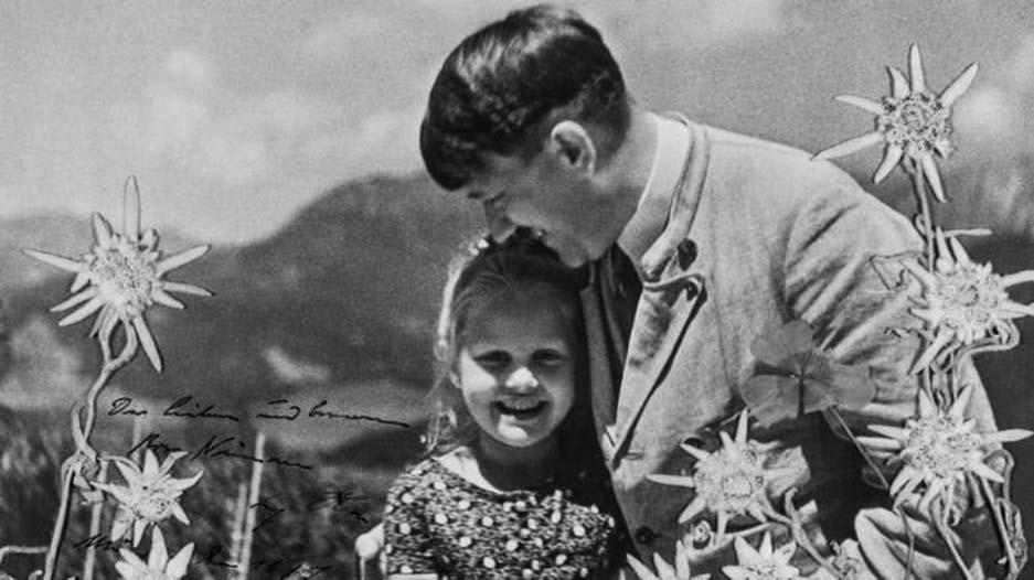 A surpreendente amizade entre o nazista Hitler e uma menina de origem judia - Criativo de Galochas