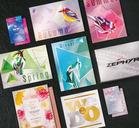 Ejemplos Iridesse Cribsa Barcelona Prensa A3 Xerox Prensa de producción digital Xerox Iridesse en Barcelona