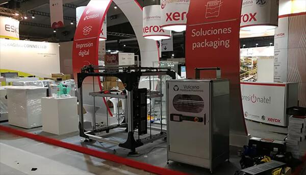 Cribsa Barcelona Graphispag 2019 Impresoras Xerox VUlcano Calefactada Impresoras 3d 2 CRIBSA y GRAPHISPAG 2019 se despiden hasta la próxima edición
