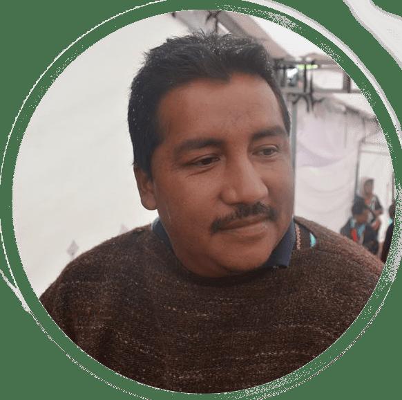 Neis Oliverio Lame Camayo Consejero Norte del Cauca -ACIN - Pueblo Nasa