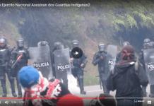 ESMAD y Ejercito Nacional Asesinan dos Guardias Indigenas