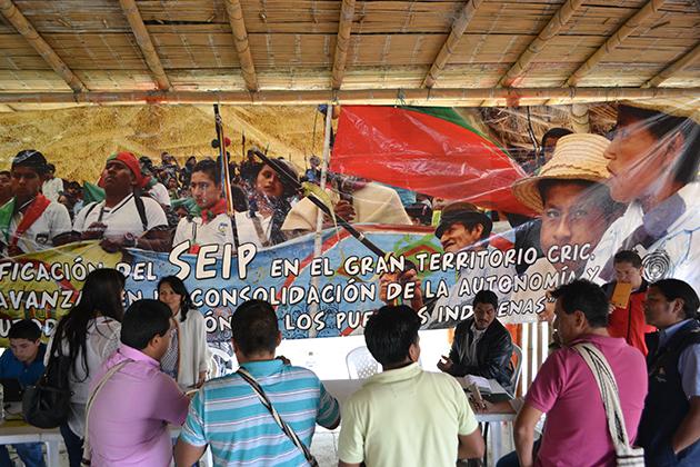Junta Directiva de Educación Regional de Autoridades del CRIC Definió Tareas a Autoridades Indígenas de las Zonas Para el Año 2017
