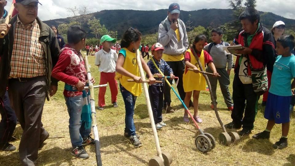Encuentro De Juegos Tradicionales Y Deportivos En El Pueblo Totoroez