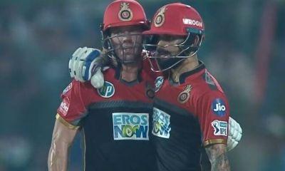 Virat Kohli and AB de Villiers
