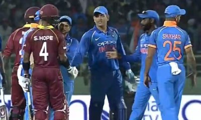 IND v WI, Hope and Dhoni
