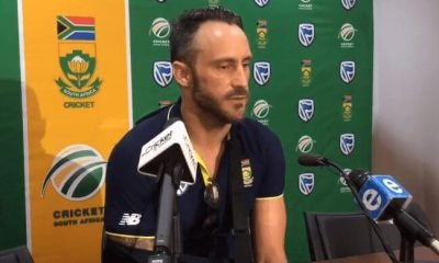 Faf du Plessis reacts on the racial comments by Sarfaraz Ahmed