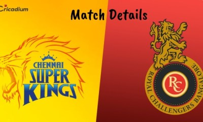 IPL 2019 Match 1 CSK vs RCB Rivalry, Venue Date and Time