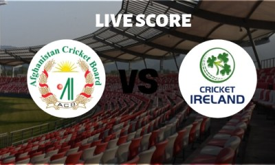 AFG vs IRE Only Test Live Score: Afghanistan vs Ireland Live Cricket Score