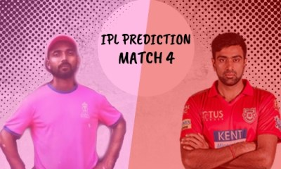 IPL 2019 Match 4 Rajasthan Royals vs Kings XI Punjab Match Prediction