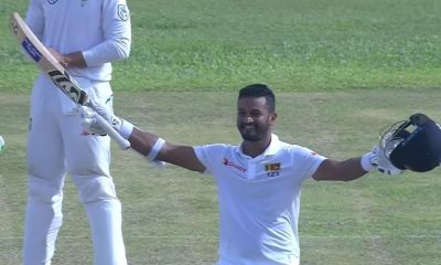 Dimuth Karunaratne named as Sri Lanka's captain for the World Cup 2019