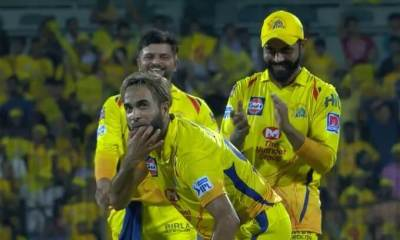 IPL 2019: Imran Tahir celebrates in Whistle Podu style. Watch Video