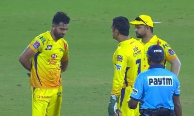 IPL 2019: When the captain cool lost his cool on his bowler