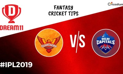 Dream 11 Prediction Today IPL Match 2019 SRH vs DC Fantasy Cricket Tips and Predicted XI