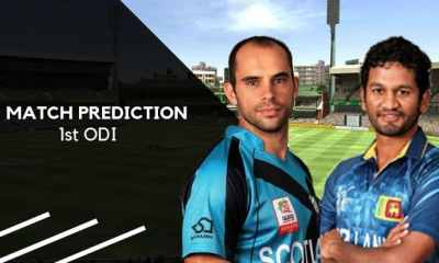 SCO vs SL Match Prediction, Who Will Win Today Scotland vs Sri Lanka 1st ODI