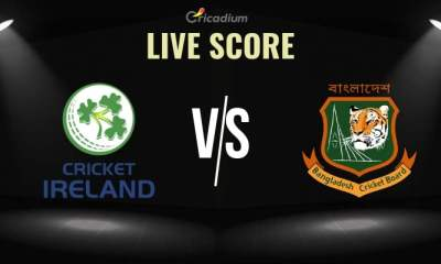Ireland vs Bangladesh Live Cricket Score