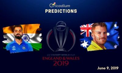 ICC World Cup 2019 Match 14 India vs Australia Match Prediction Who Will Win Today