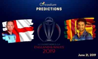 ICC World Cup 2019 Match 27 England vs Sri Lanka Match Prediction Who Will Win Today