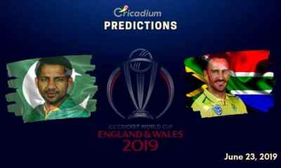 ICC World Cup 2019 Match 30 Pakistan vs South Africa Match Prediction Who Will Win Today