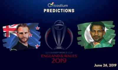 ICC World Cup 2019 Match 33 New Zealand vs Pakistan Match Prediction Who Will Win Today