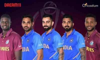 WI vs IND Dream 11 team Today Match 34 World Cup 2019: West Indies vs India Dream 11 Tips