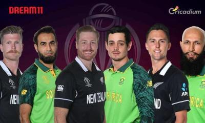 NZ vs SA Dream 11 team Today Match 25 World Cup 2019: New Zealand vs South Africa Dream 11 Tips