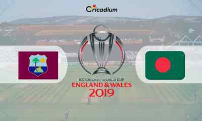 World Cup 2019 Match 23 WI vs BAN Live Score: West Indies vs Bangladesh Live Cricket Score