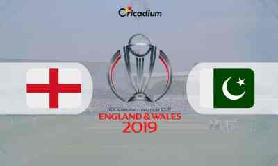 World Cup 2019 Match 6 ENG vs PAK Live Score: England vs Pakistan Live Cricket Score