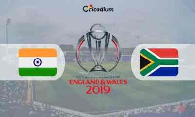 World Cup 2019 Match 8 SA vs IND Live Score: South Africa vs India Live Cricket Score