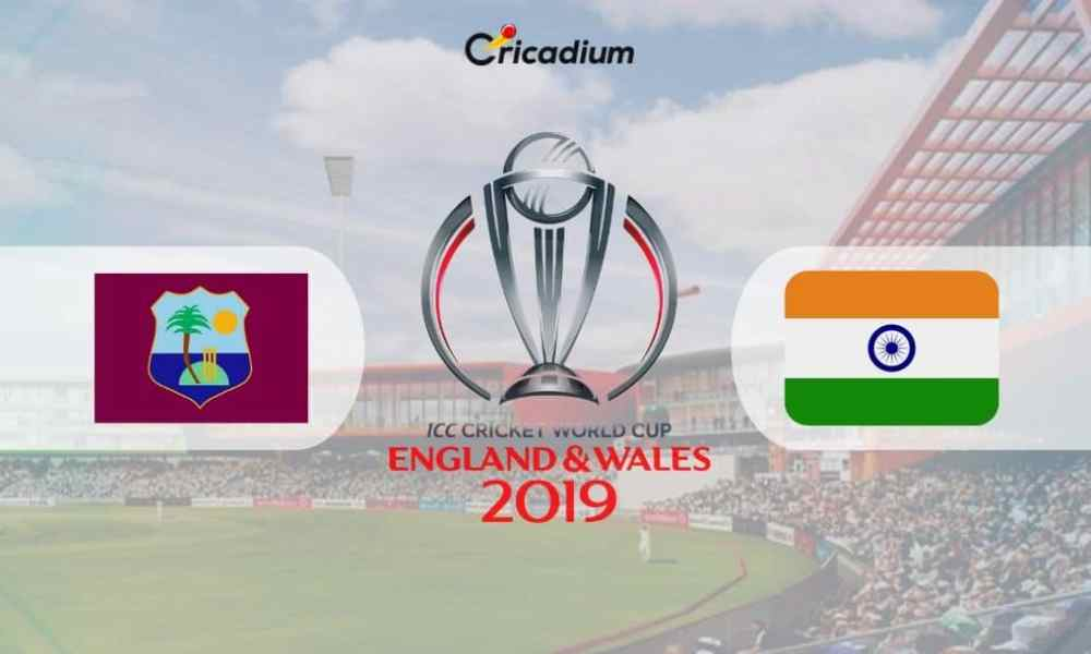 World Cup 2019 Match 34 WI vs IND Live Score: West Indies vs India Live Cricket Score