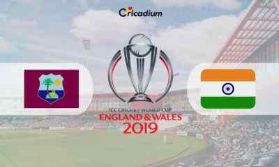 World Cup 2019 Match 34 WI vs IND Live Score: West Indies vs India Live Cricket Score