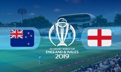 World Cup 2019 Final NZ vs ENG Live Score: New Zealand vs England Live Cricket Score