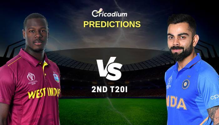 India tour of West Indies, 2019 2nd T20I WI vs IND Match Prediction Who Will Win
