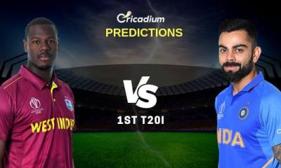 India tour of West Indies, 2019 1st T20I WI vs IND Match Prediction Who Will Win
