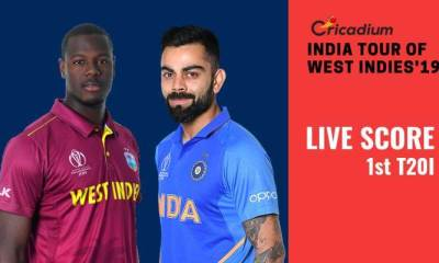 India tour of West Indies, 2019: WI vs IND 1st T20I Live Score