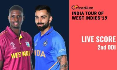 India tour of West Indies, 2019: WI vs IND 2nd ODI Live Score